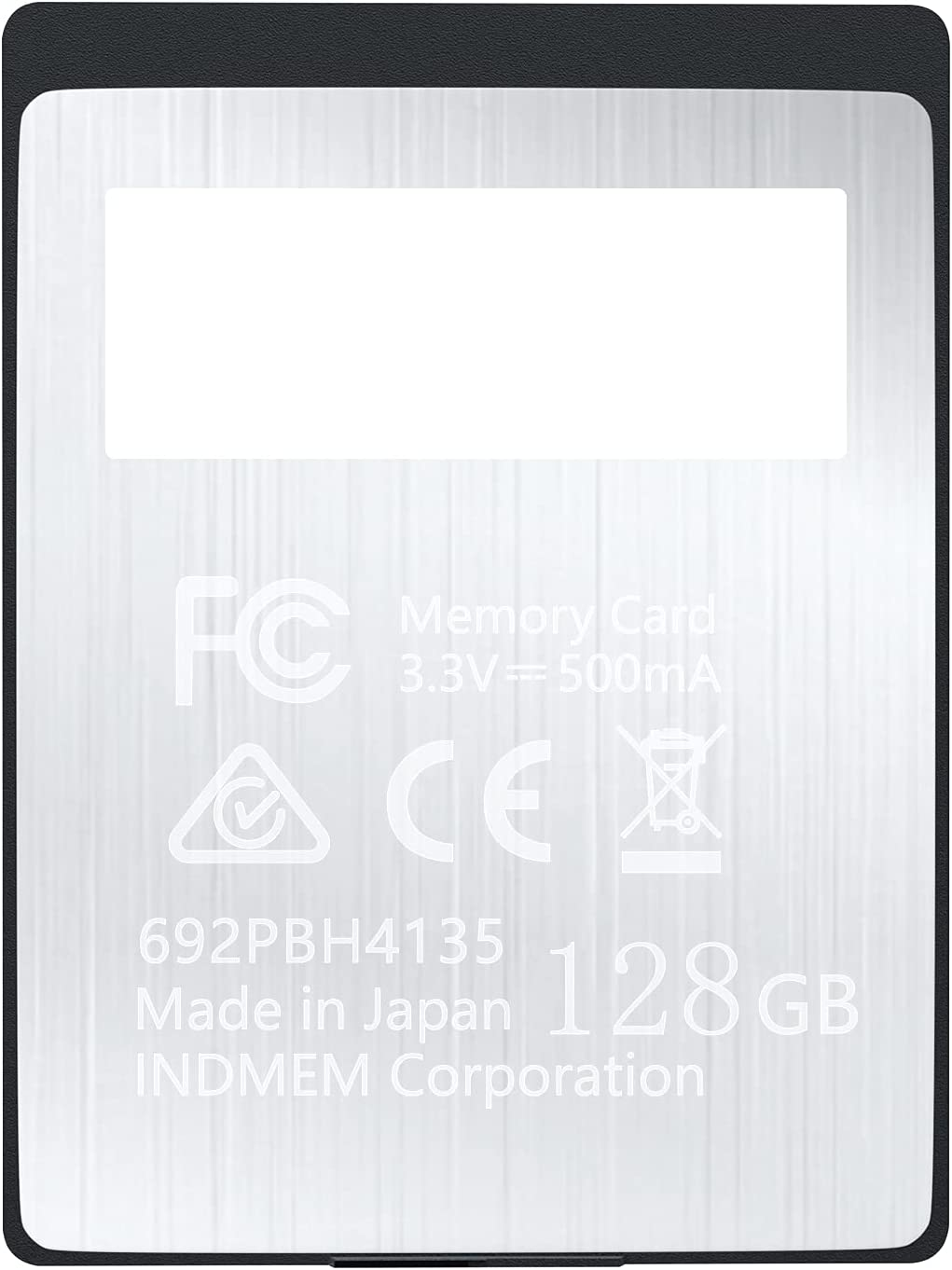 XQD 128GB Memory Card, 5X Tough MLC XQD Flash Memory Card High Speed G Series| Max Read 440MB/s, Max Write 400MB/s