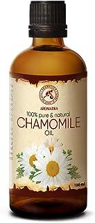 Aceite de Manzanilla 100ml - 100% Puro & Natural - Ideal para el Cabello - Piel - Cuerpo - Masaje - Aceite Hidratante & Ca...