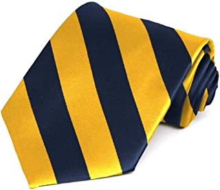 Best navy blue and yellow tie Reviews