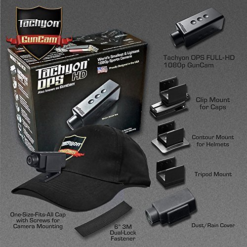 2020 Tachyon GunCam 1080p Sport Shooting Bundle