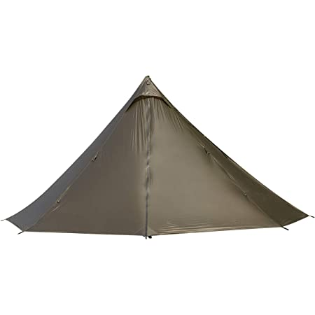 OneTigris Black Orca ワンポールテント 軽量テント 2人用 簡単設営 防水 キャンプ用