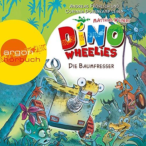 Die Baumfresser (Dino Wheelies 3) Titelbild
