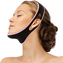 Facial Slimming Strap, Pain-Free Face Lifting Belt, Double Chin Reducer, V Line Lifting Chin Strap for Women Men Eliminates Sagging Skin Lifting Firming Anti Aging