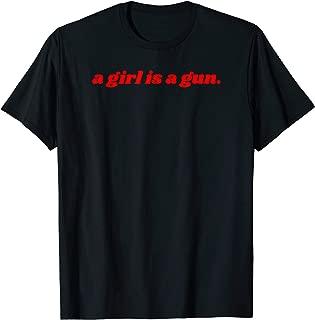 Best girl is a gun t shirt Reviews