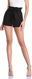 Freeprance Paper Bag Shorts for Women high Waisted Casual...