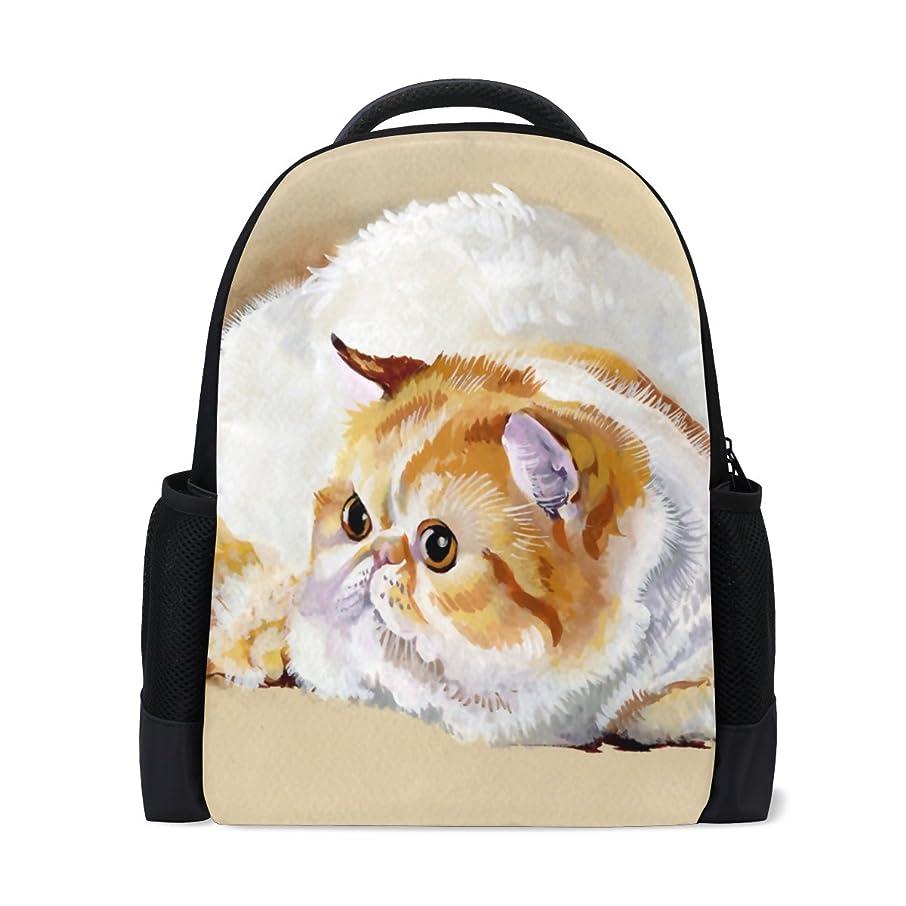 サルベージ盗難うがいAOMOKI リュックサック バッグ 男女兼用 メンズ レディース 通勤 通学 大容量 猫