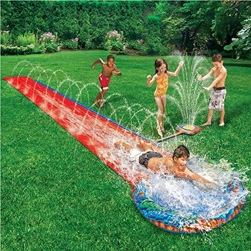 Rexco CHILDRENS KIDS SOAK N SPLASH 16' AQUA GARDEN WATER SLIDE SPRAY...
