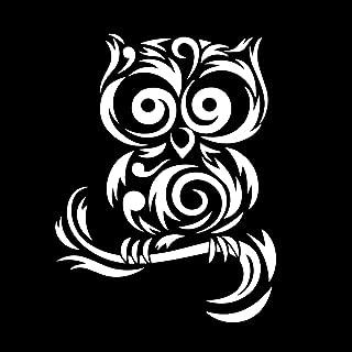 Tribal Cute Owl Silhouette 6