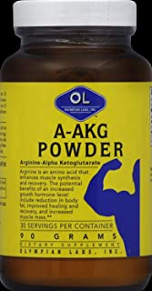 Olympian Labs - A-Akg, 90 g powder (Pack of 3)