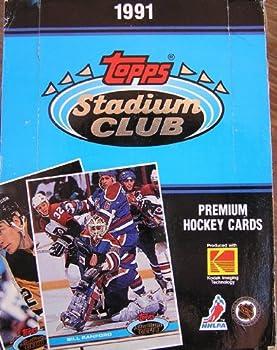 Topps Stadium Club Premium Hockey Cards 1991