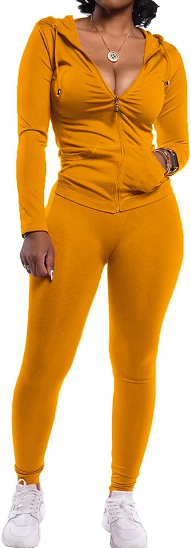 PRETTYGARDEN Women's Two Piece Tracksuit Set Long Sleeve Zipper Hoodie Jacket with Sweatpants Sweatsuit Jogger Workout Set