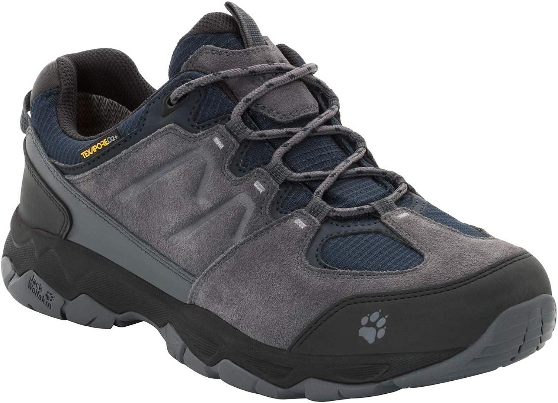 Jack Wolfskin Mans MTN Attack 6 Texapore Texapore Texapore Low Mans Vattentäta Hiking skor skor  bekvämt