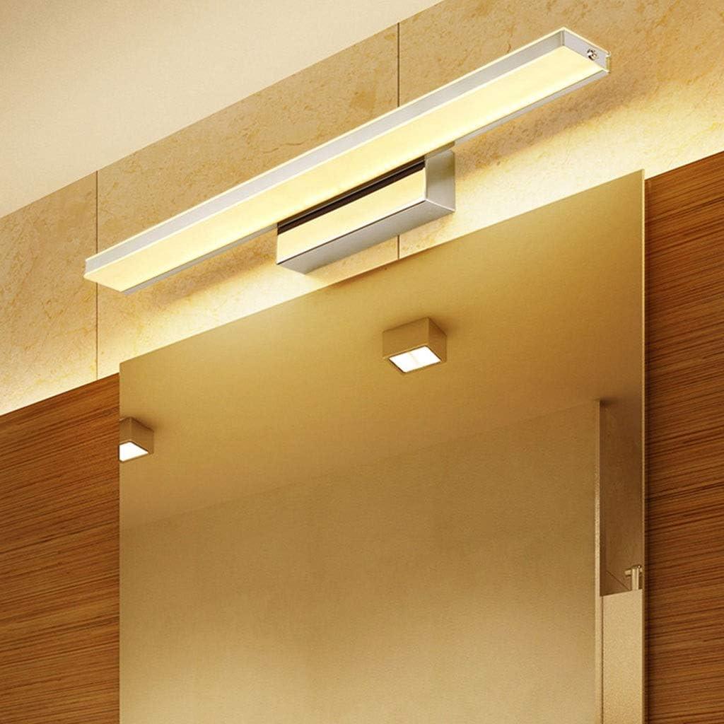-badezimmerlampe LED-Badezimmer-Eitelkeit beleuchtet wasserdichte und beschlagfreie Schlafzimmer-Ankleidezimmer-Lampe Acryl-Edelstahl Badleuchte (Color : B-92cm) B-92cm