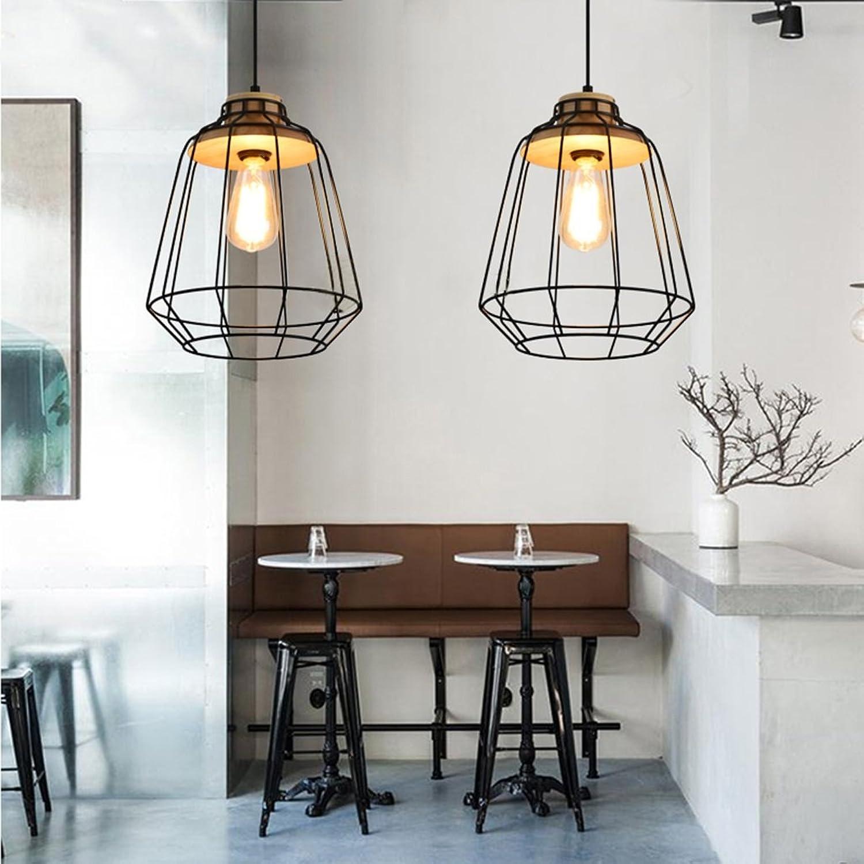 DSADDSD &Pendelleuchte Restaurant Moderne Schmiedeeisen Kronleuchter Bar Zhler Schlafzimmer Wohnzimmer Café Restaurant Lampe Retro Mesh Decke Kronleuchter (Farbe   A)