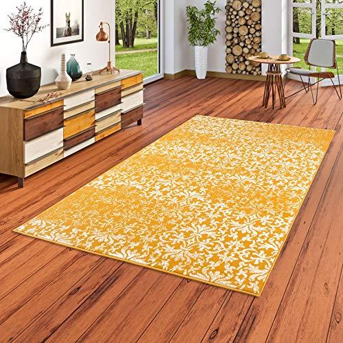 Designer Teppich Passion Vintage Curry Verlauf in 5 Größen