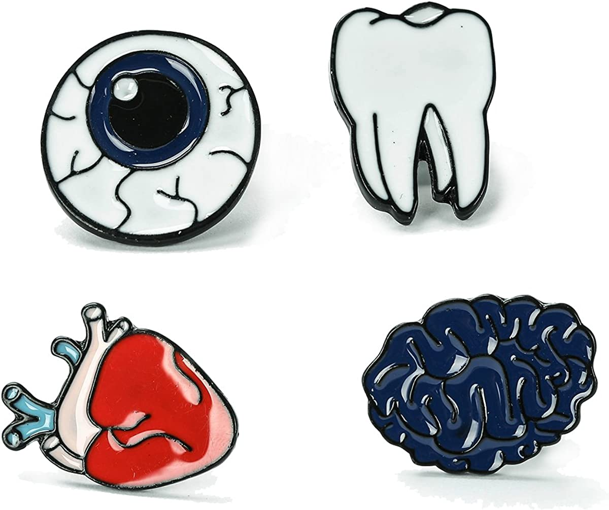 Cute Cartoon Brooch Pins for Women, Children, Teenagers. Great for Backpacks and Jeans