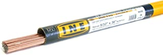 INETIG ER70S-6 5/32 x 36-Inch on 10-Pound Tube Copper Coated Tig Rod for Welding Carbon Manganese Steels