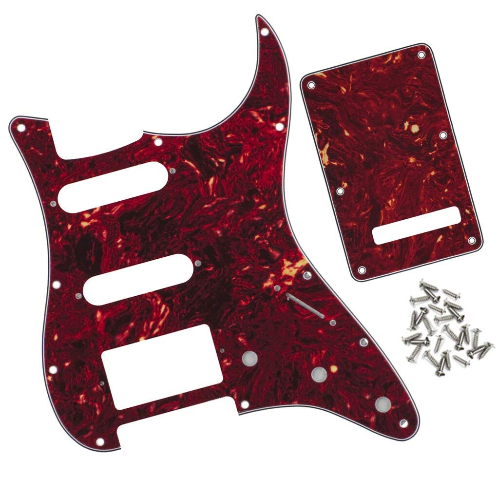 Guitar Parts Set of Strat All items free shipping HSS 100% quality warranty Pickguard Back Tremol Plate