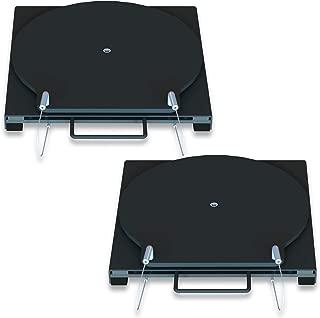 Bendpak Alignment Rack Round Top Steel Alignment Turnplate Turntable Set