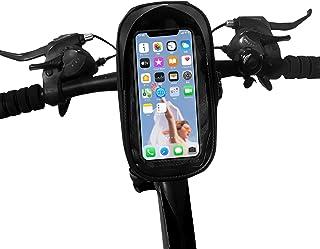 自転車 スマホ ホルダー スタンド スマートフォン 振れ止め 脱落防止 収納可能 防水 防塵 遮光 6.5インチ対応 ロードバイク スマホホルダー 携帯 固定用