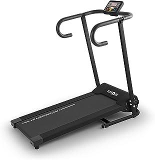 comprar comparacion Klarfit Pacemaker X1 Cinta para Correr 10 km/h Entrenador Digital Negro, Cintas de Actividad, Los Mejores Precios