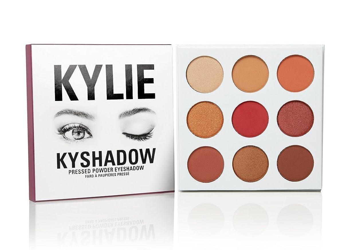 船外十分です発生するKylie Cosmetics(カイリーコスメティック)The Burgundy Palette KYSHADOW 新作 9色アイシャドウパレット