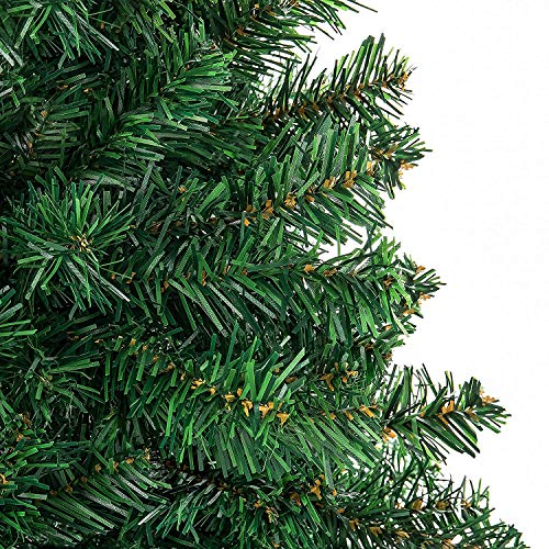 YOURFUN-Christmas-Tree-Classic-Artificial-Realistic-Natural-Branches-Pine-Xmas-4FT-5FT-6FT-7FT