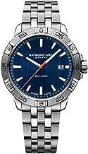 Raymond Weil Tango Men's Date 300, steel on steel, blue dial 8160-ST2-50001