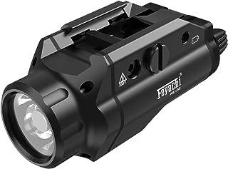 Feyachi HL-20 Compact Tactical Handgun Weapon Pistol Rail Light 400Lumen Mount Flashlight for Handgun Pistol