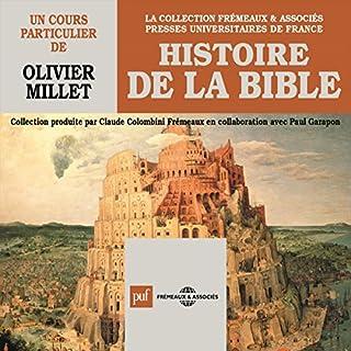 Couverture de Histoire de la Bible