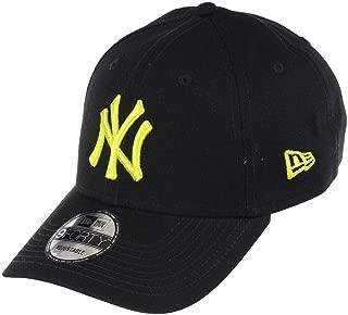 New Era Unisex's Beyzbol Kepi LEAGUE ESSENTIAL 9FORTY NEYYAN BLKCYG, Siyah, Tek Ebat (Üretici ölçüsü: Bedensiz)
