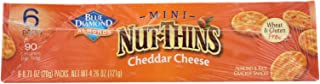 Blue Diamond, Nut Thins, Mini, Cheddar Cheese, Pack of 6, Size - 6/.71 OZ, Quantity - 1 Case