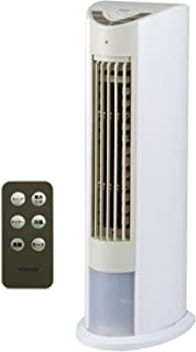 山善 冷風扇 (リモコン)(風量3段階) タイマー付 ホワイトベージュ FCR-D405(WC)
