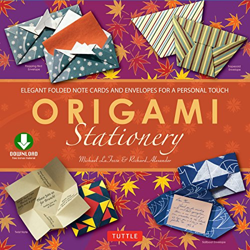 Origami Stationery: (Downloadable Material Included) (English Edition)