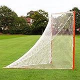 FORZA Lacrosse 6mm Goal Nets [Ultra Heavy Duty] – Replacement White Polyester Lacrosse Net (Single Net)