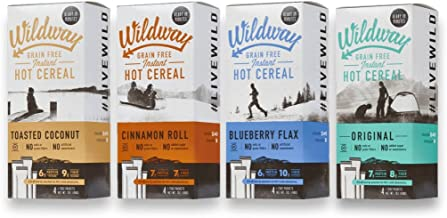 product image for Wildway Grain-free, Keto Hot Cereal Variety Pack, 7 .oz ea, Pack of 4