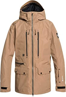 Quiksilver Mens Black Alder 2L Gore-Tex - Snow Jacket Snow Jacket