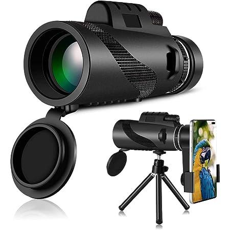 Match 100x90 Optisches Teleskop Tragbar Wasserdichtes Nebelsicheres Tag /& Nachtsicht f/ür Vogelbeobachtung Monokulare Starscope Teleskop Wildlife-Landschaft Camping