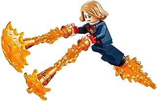 Avengers Lego Marvel Superheroes Endgame Captain Marvel with Power Blast Effects 76131 Mini Fig Minifigure