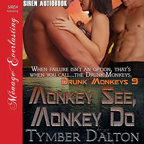 Monkey See, Monkey Do audiobook cover art