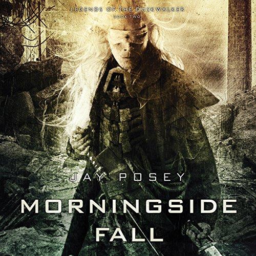 Morningside Fall audiobook cover art