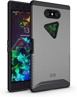 TUDIA Merge Designed for Razer Phone 2 Case, Rugged Drop Protection Phone Case for Razer Phone 2 (Metallic Slate)