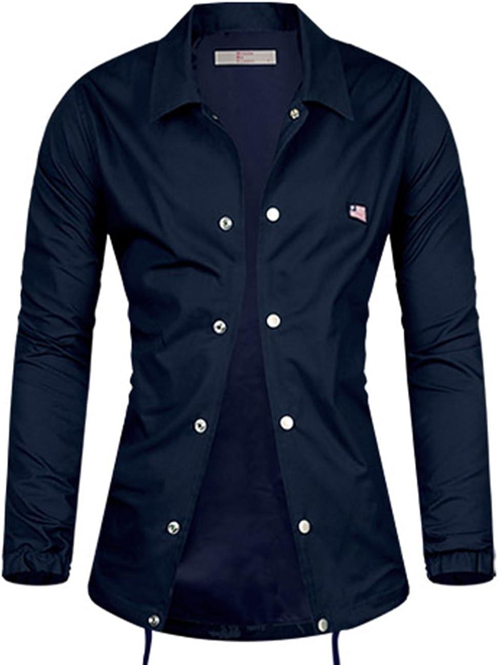 Men's Luxury Pure Cotton Suit Blazer Jacket Jumper