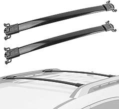 For 2010-2017 Chevy Equinox GMC Terrain Roof Rack Cross Bar Set Basket Carrier