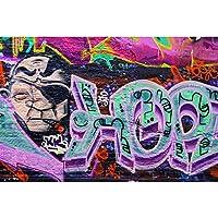 ストリートアートグラフィティジグソーパズル - 大人の子供教育減圧おもちゃパズル手作りギフト500/1000/1500/2000ピース 1226 (Color : No partition, Size : 1000 pieces)