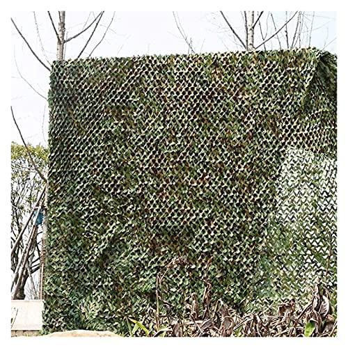 Mirui Tela de toldo Shade Lona Camuflaje Militar Net Red Lona Camuflaje Caza Impermeable de Tela Tamaño Bloqueador Solar: 9X10M / 29.5X32.8FT -AA (Size : 4x8m/13.1x26.2ft)
