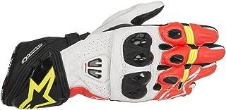 Guante Alpinestars GP Pro R2 negro / blanco / rojo / amarillo (XL)