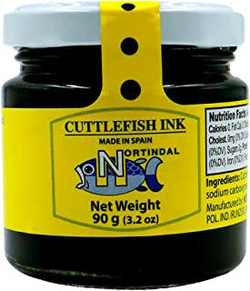 Nortindal Cuttlefish Ink/ Squid Ink Jar 3.2ounce