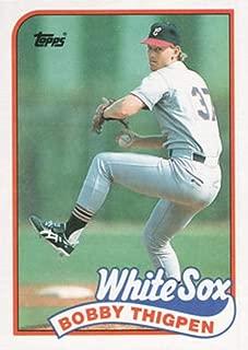 Baseball MLB 1989 Topps #762 Bobby Thigpen White Sox