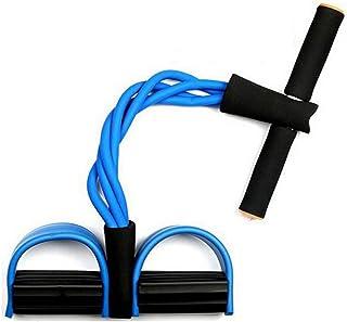 Abdominales Aparatos De Ejercicios De Ejercicios En Casa Para Perder Peso Cuerda De Tiro De La Cintura Delgada Y El Pedal Del Pecho,Blue
